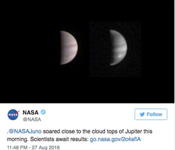 (翻攝NASA推特)