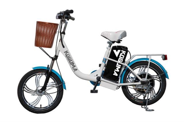 芳瑛試騎後推薦,KOGUMA是越南勞工外出購物、假日與朋友出遊的最佳代步工具!(攝影/莊孟翰)