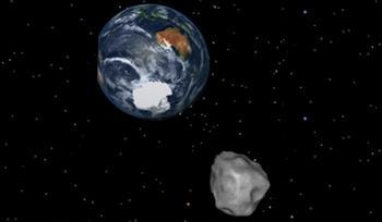 有驚無險  小行星再次擦地球而過