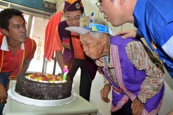 大陸來台依親90歲奶奶:我要永遠留在台灣