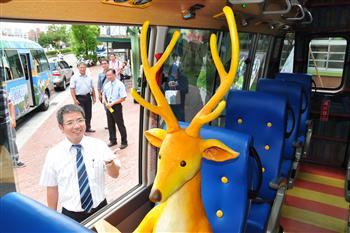 超療癒 宜蘭幾米公車9月13日起試營運