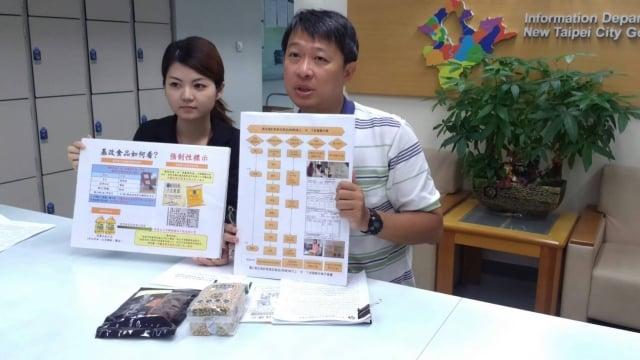 衛生局食品藥物管理科科長劉君豪表示,追蹤去年輔導改善標示的198件產品,所幸全數符合規定。(記者莊麗存/攝影)