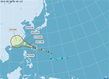 颱風梅姬 彭啟明:北部絕對有感