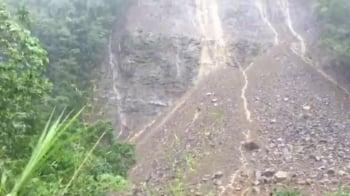 梅姬過境挾大雨 石門水庫排沙洩洪