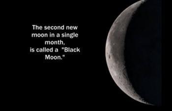 血月和藍月亮還不夠 本週五出來黑月亮