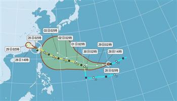 颱風梅姬威脅還未解除 輕颱芙蓉形成