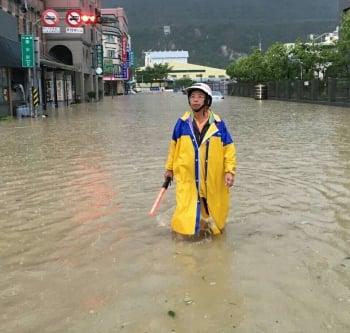 厚生里3度淹水 高市府:滯洪池竣工可改善