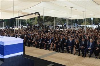佩雷斯國葬逾80國際政要出席 歐巴馬講話