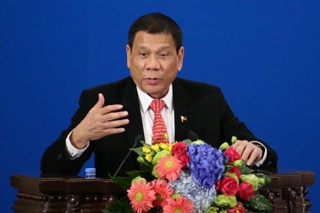 中菲發表聯合聲明 重申南海不訴諸武力