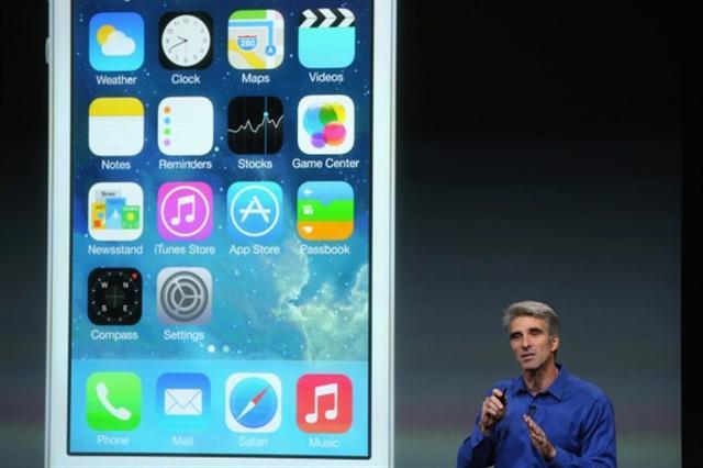 在社交媒體對蘋果新發布的iOS 10.1刪除用戶的健康管理應用程式健康數據之後,蘋果快速釋出iOS 10.1.1進行彌補。( Justin Sullivan/Getty Images)