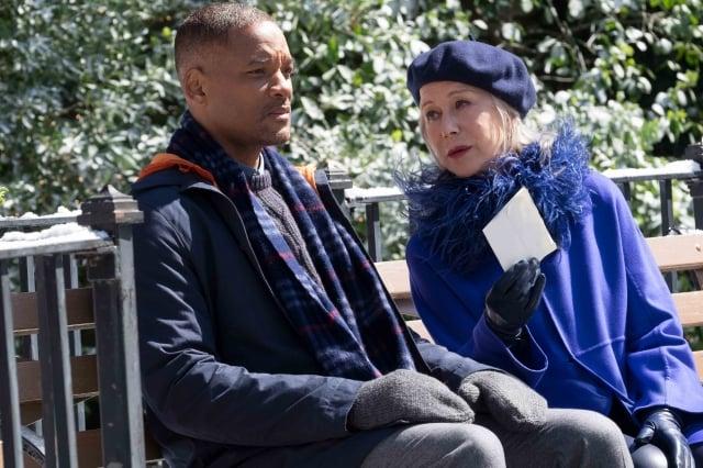 威爾史密斯主演新片《最美的安排》。