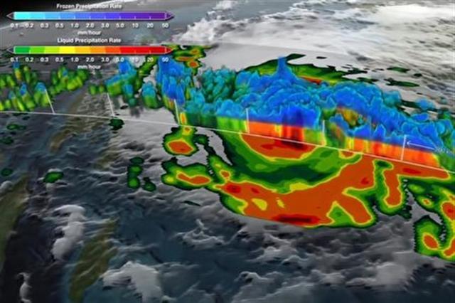 NASA將觀測地球天氣等情況。(NASA視頻截圖)