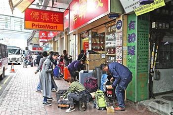 大陸假貨劣貨充斥 陸客赴港搶購高品質年貨