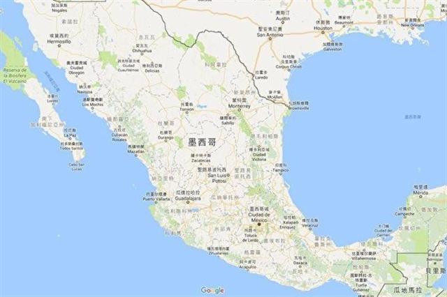 中華民國外交部1月30日表示,邱姓台商於墨西哥當地時間1月9日上午9時許遭槍擊身亡,駐處代表已於案發當日電話慰問家屬,也請案發地檢警單位全力緝凶。(圖取自Google地圖網頁www.google.com.tw/maps)