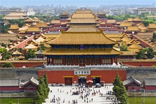 北京紫禁城。(網絡圖片)