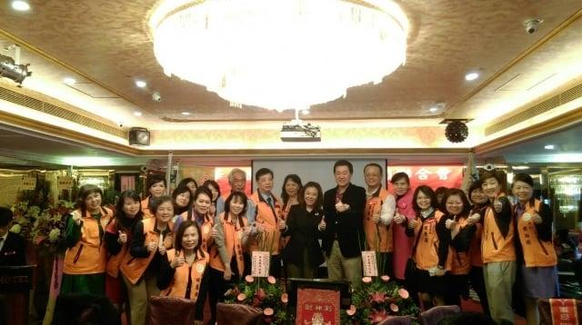 中華民國記帳士公會全國聯合會21日在台北市天成飯店舉辦新春團拜。(中華民國記帳士公會全國聯合會提供)