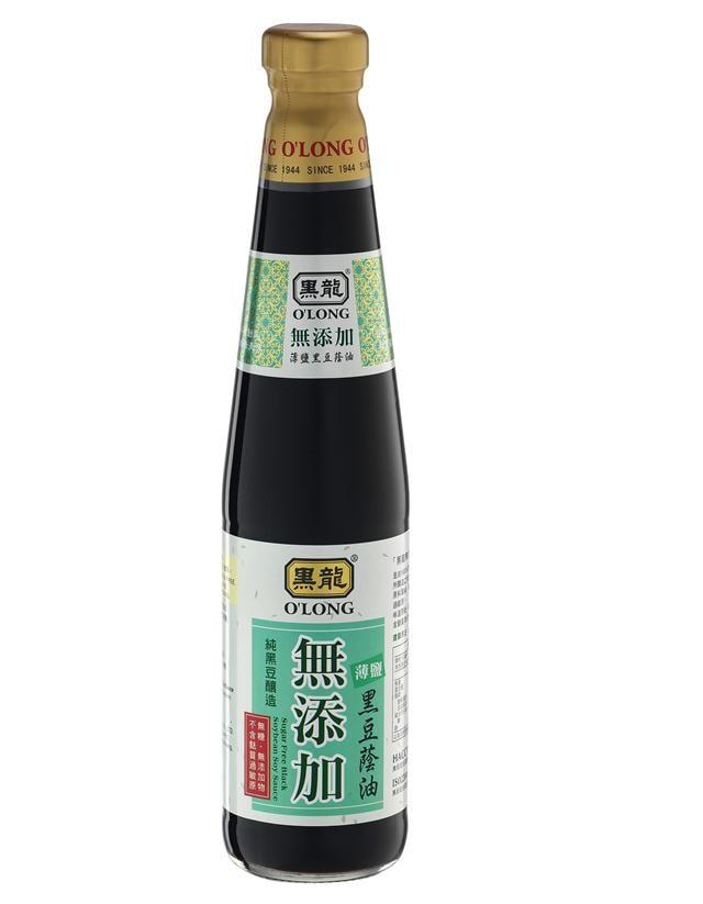 無添加薄鹽黑豆蔭油400ml。(三鷹食品提供)