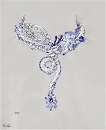 林千惠的手繪作品圖。(林千恵提供)