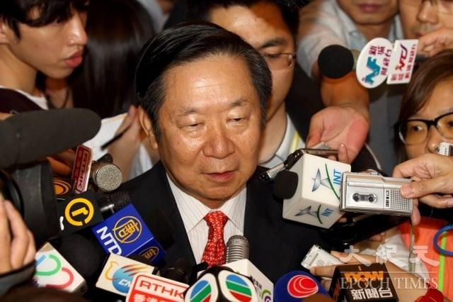 港澳辦前副主任陳佐洱。(記者潘在殊/攝影)