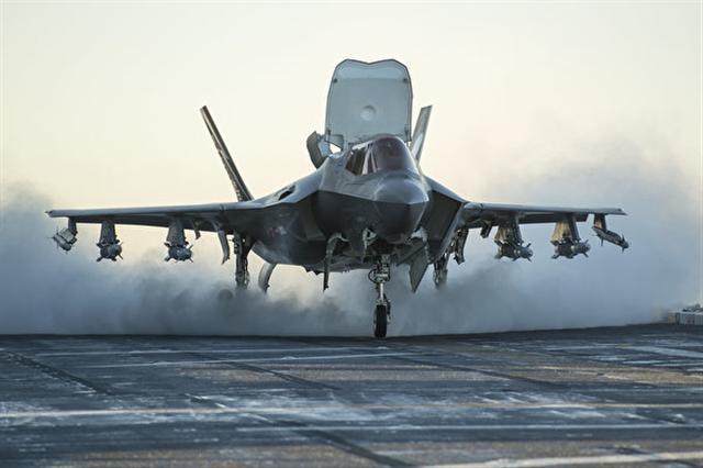 F-35B型隱形戰鬥機。(Flickr)