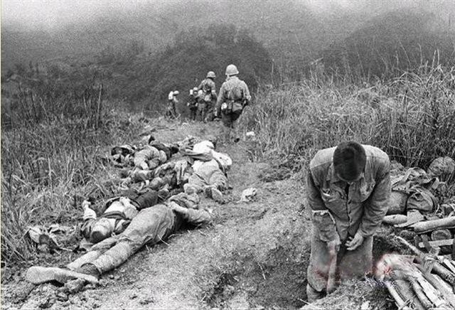 傷亡慘重的中越戰爭(網路圖片)