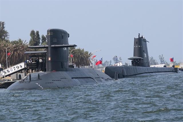 我國的潛艦。(Getty Images)