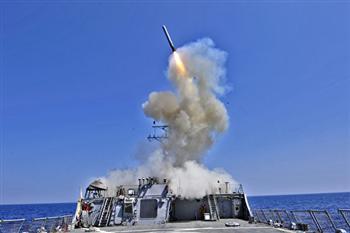 美軍對敘利亞發射逾50枚戰斧飛彈