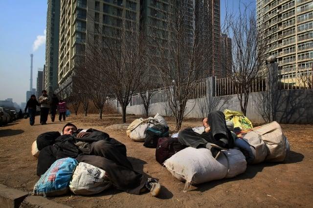 拆遷報告指出,在熱點城市由於對地皮仍有需求,拆遷動力未減。(Getty Images)