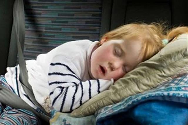 打鼾的兒童比不打鼾的兒童,更可能面臨智力下降、高血壓和行為乖戾的風險。(網絡圖片)