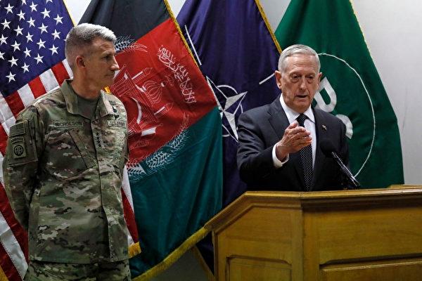美防長突訪阿富汗 評估是否增兵