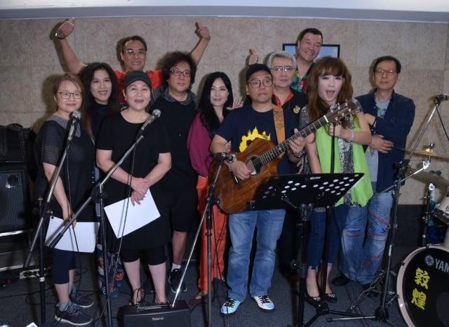 「民歌42高峰會」19日總彩排團練。(記者黃宗茂/攝影)