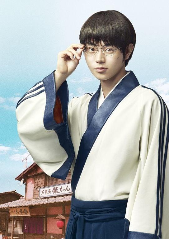 《銀魂》真人版電影劇照,菅田將暉飾演志村新八。