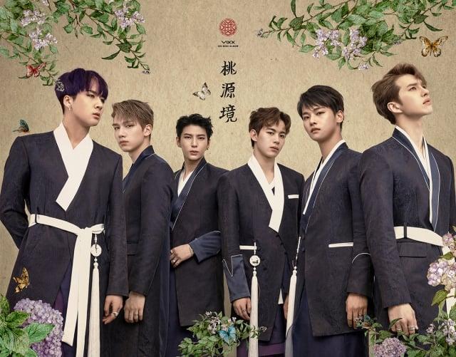 韓國男團VIXX出道5周年,推出紀念迷你專輯。(avex提供)