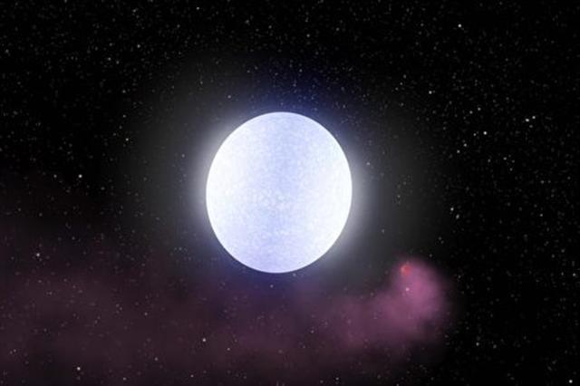 KELT-9b行星有星尾,看起來像彗星。(Sci-news影片截圖)