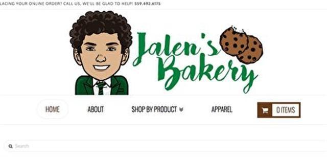 賈倫烘焙坊網站商標。(網路截圖)