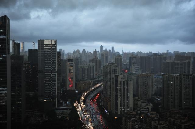 目前中國大陸房地產行業,或正在面臨資金緊張問題。(Getty Images)