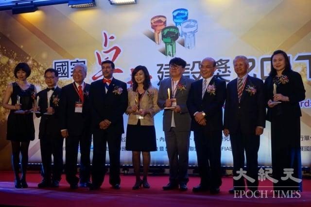 獲得全球卓越建設獎的二金四銀得獎主。