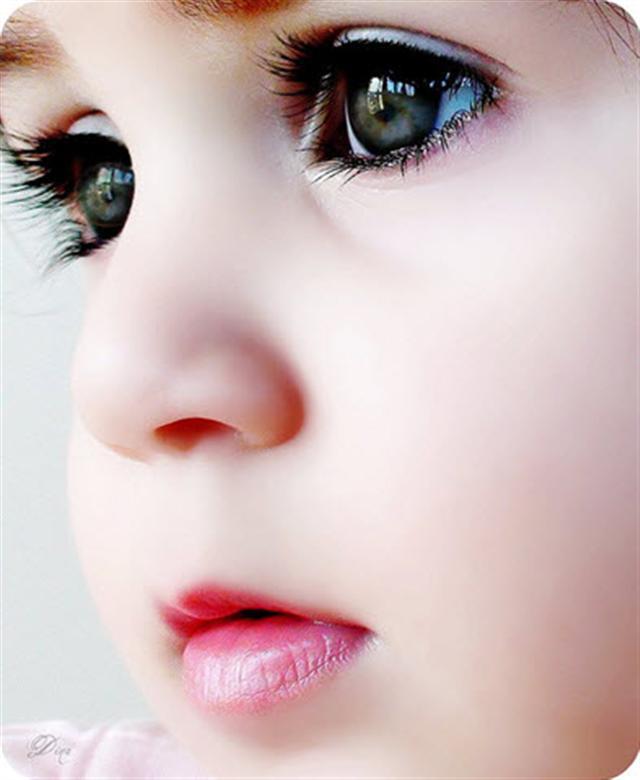 無邪的孩童雙眼。(@haoyiyang推特)
