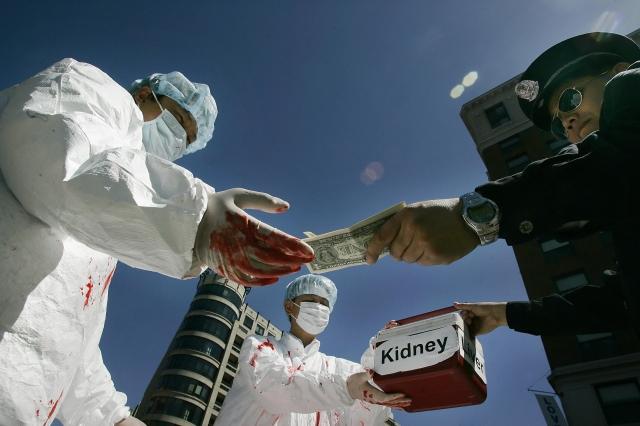 器官移植手術 供體國家分配  軍醫疑存有活體集中營