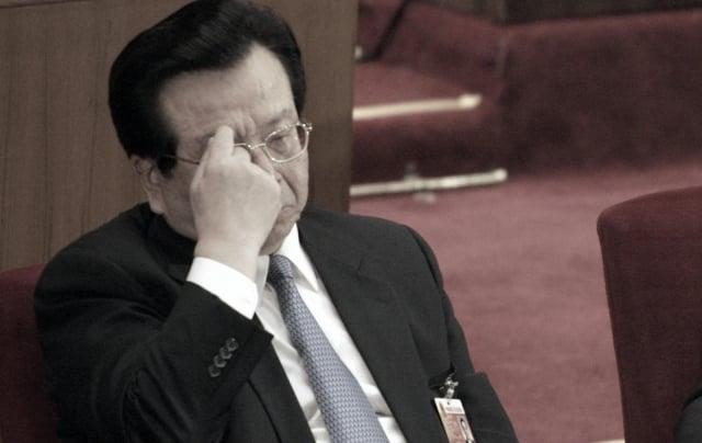 曾慶紅長期掌控中共情報系統。(AFP)