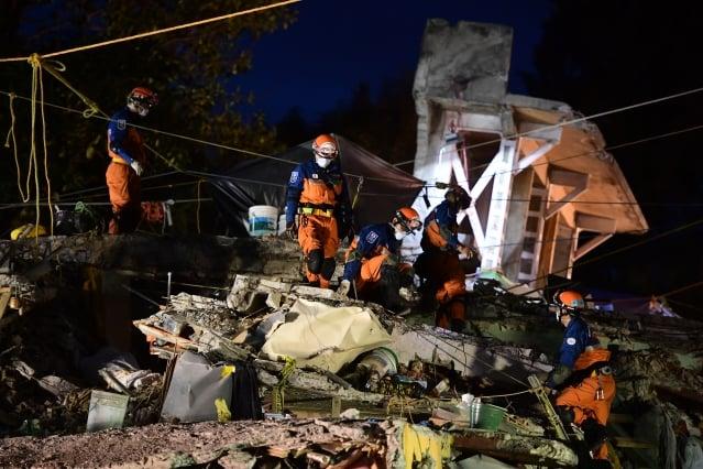 墨西哥再遭規模6.1地震 餘震不斷