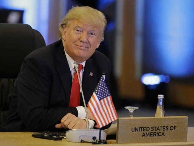 川普在演說中說,我們希望在亞太地區的夥伴強大、獨立且繁榮。(Getty Images)