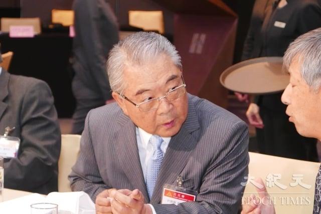 全國工業總會理事長許勝雄昨(15)日表示,行政院長賴清德指核電是最後選項,此言有助於促進企業投資。(記者郭曜榮/攝影)