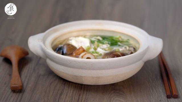 鍋燒意麵有種味覺「鮮」,淡淡持久的味道,讓人愉悅卻難以形容。(攝影/C2食光提供)