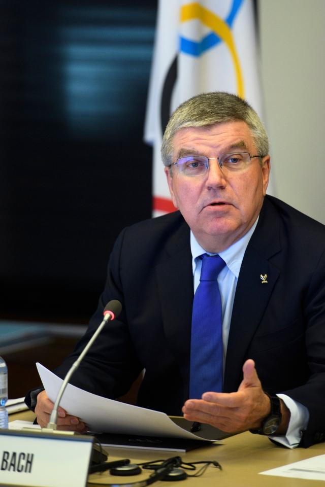 IOC奧運會主席巴赫。(Getty Images)