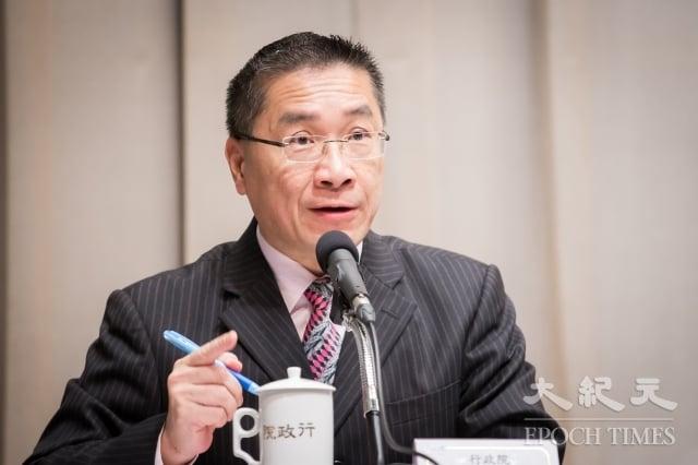 對於校名和路名都將改名,行政院發言人徐國勇表示,「沒這回事,這是製造對立」。(大紀元資料室)