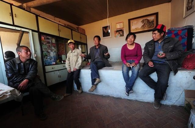 近日,內蒙古自治區的「扶貧」亂象被曝光。圖為內蒙古某一家庭一景。(Getty Images)