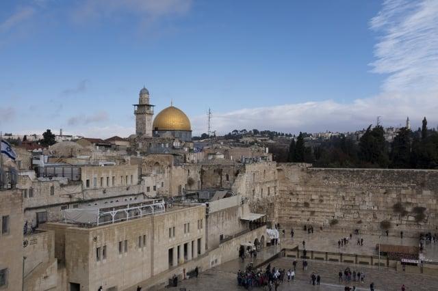 川普命令國務院將美國大使館遷往耶路薩冷。圖為耶路薩冷。(Getty Images)