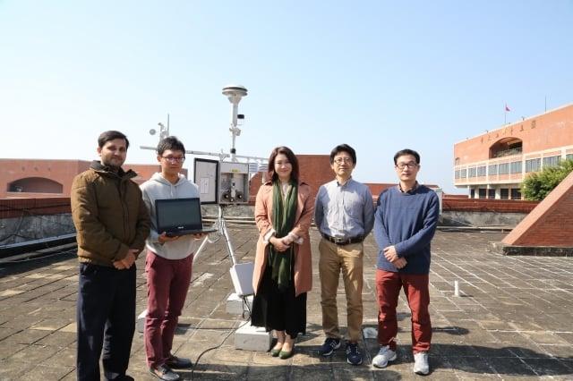 港區空汙近期備受關注,中山大學在校園內裝設全國最靠近海港區域的PM2.5監測設施,以利找分析港區空汙造成原因。