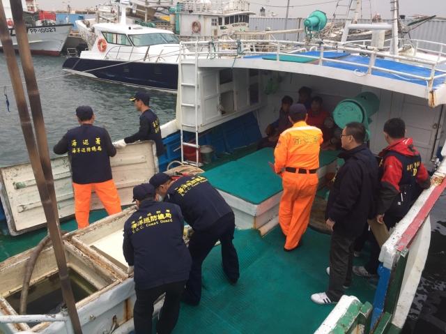 檢、警、海巡專案小組利用數位鑑識及大數據過濾,破獲史上最大宗漁船走私K他命案。(高雄地檢署提供)